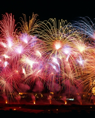 New Years Fireworks - Obrázkek zdarma pro Nokia Lumia 822
