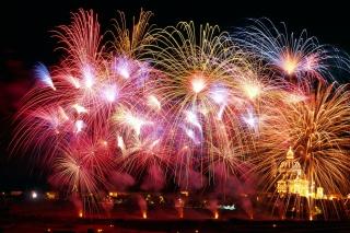 New Years Fireworks - Obrázkek zdarma pro Samsung Galaxy S II 4G