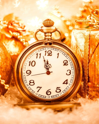 New Year Countdown Timer, Watch - Obrázkek zdarma pro 240x400