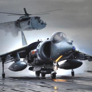 British Aerospace Harrier GR7 - Obrázkek zdarma pro iPad 2