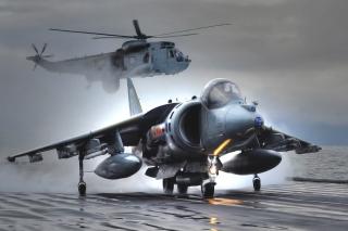 British Aerospace Harrier GR7 - Obrázkek zdarma pro Fullscreen 1152x864