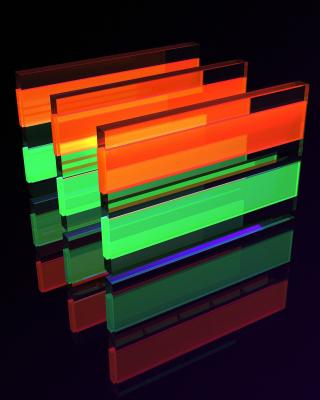 Glass Bricks - Obrázkek zdarma pro Nokia Asha 300