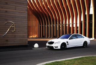 S-Class Luxury Sedan Mercedes Wallpaper for Android, iPhone and iPad