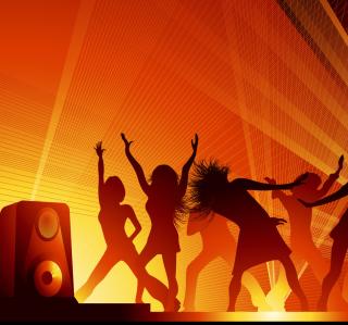 Disco Party - Obrázkek zdarma pro 1024x1024