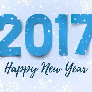 Happy New Year 2017 - Obrázkek zdarma pro iPad mini 2