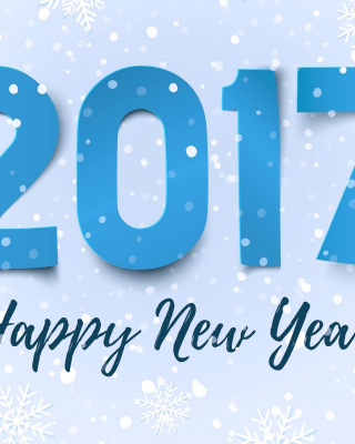 Happy New Year 2017 - Obrázkek zdarma pro iPhone 5
