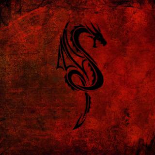 Tribal Dragon - Obrázkek zdarma pro iPad 2