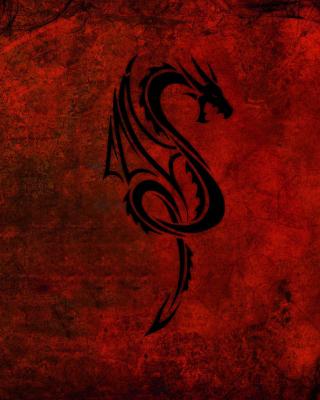Tribal Dragon - Obrázkek zdarma pro iPhone 5S