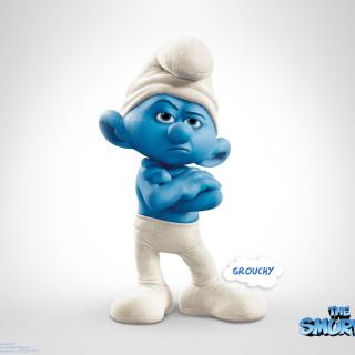 Grouchy The Smurfs 2 - Obrázkek zdarma pro 128x128