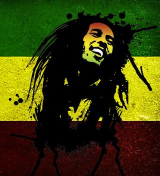 Bob Marley Rasta Reggae Culture - Obrázkek zdarma pro iPad 2