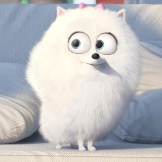 The Secret Life of Pets, Snowball - Obrázkek zdarma pro 1024x1024