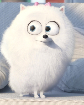 The Secret Life of Pets, Snowball - Obrázkek zdarma pro iPhone 5C
