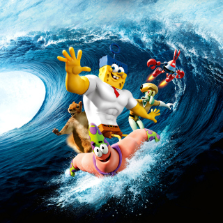 The SpongeBob Movie Sponge Out of Water - Obrázkek zdarma pro 208x208
