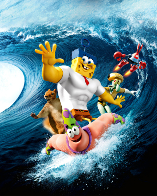 The SpongeBob Movie Sponge Out of Water - Obrázkek zdarma pro 176x220