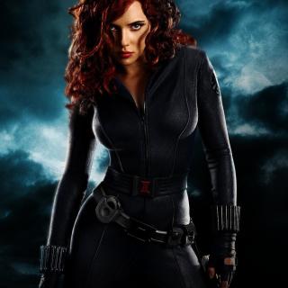 Black Widow - Obrázkek zdarma pro iPad 3