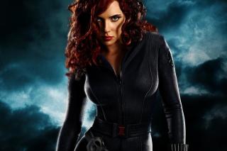Black Widow - Obrázkek zdarma pro 320x240