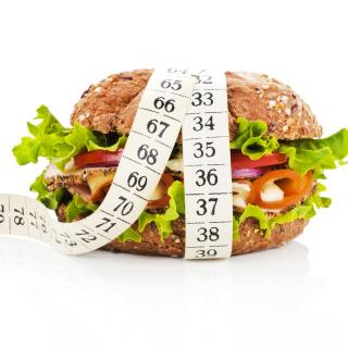 Healthy Diet Burger - Obrázkek zdarma pro 128x128