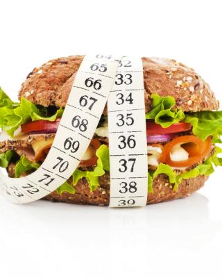 Healthy Diet Burger - Obrázkek zdarma pro Nokia X3-02