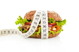 Healthy Diet Burger - Obrázkek zdarma pro 640x480