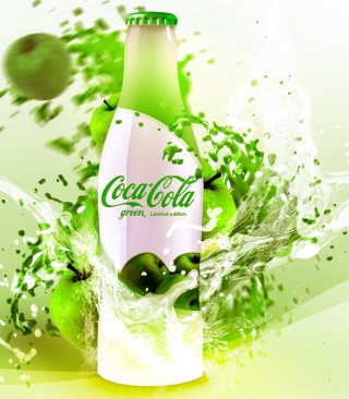 Coca Cola Apple Flavor - Obrázkek zdarma pro Nokia Asha 203