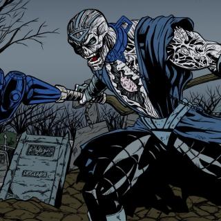 Nekron DC Comics Supervillain - Obrázkek zdarma pro iPad 2