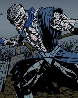 Nekron DC Comics Supervillain - Obrázkek zdarma pro 320x480