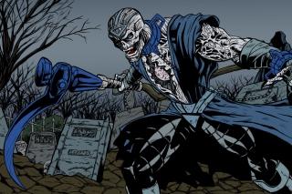 Nekron DC Comics Supervillain - Obrázkek zdarma pro Motorola DROID