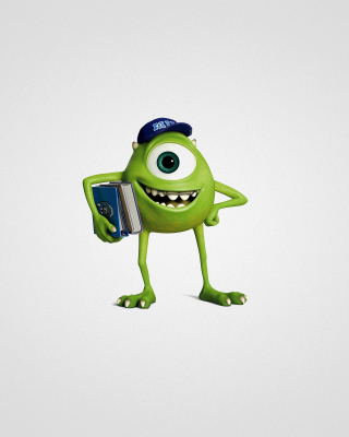 Monsters University, Mike Wazowski - Obrázkek zdarma pro iPhone 4