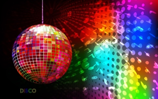 Disco Ball - Obrázkek zdarma pro 1200x1024