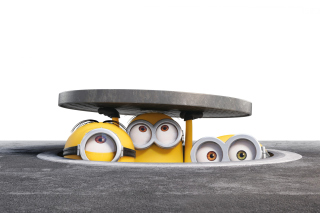 Minions Band Wallpaper for Sony Ericsson XPERIA X8
