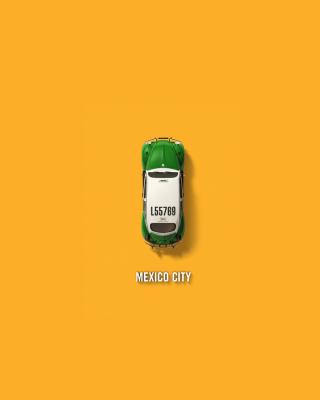 Mexico City Cab - Obrázkek zdarma pro 360x640