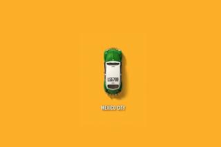 Mexico City Cab - Obrázkek zdarma pro Sony Xperia E1