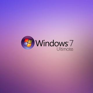 Windows 7 Ultimate - Obrázkek zdarma pro iPad mini 2