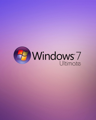 Windows 7 Ultimate - Obrázkek zdarma pro 750x1334