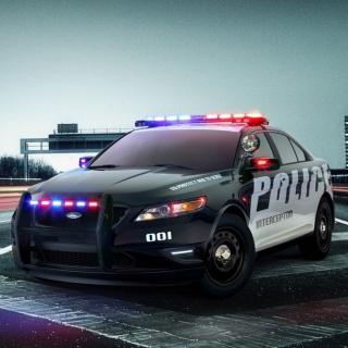 Ford Police Car - Obrázkek zdarma pro iPad Air
