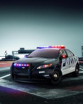 Ford Police Car - Obrázkek zdarma pro Nokia X3-02