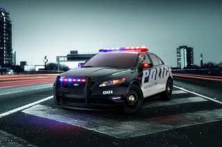 Ford Police Car - Obrázkek zdarma pro HTC One