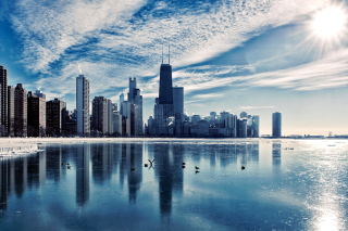 Chicago, Illinois Background for Android, iPhone and iPad