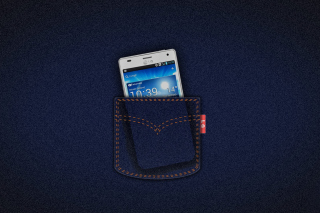 LG G4 Smartphone - Obrázkek zdarma pro LG Optimus M