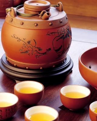 Japanese Tea - Obrázkek zdarma pro iPhone 4S