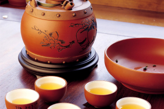 Japanese Tea Background for Android, iPhone and iPad