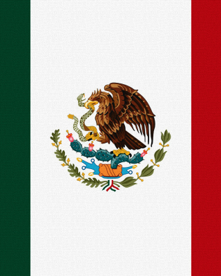 Flag Of Mexico - Obrázkek zdarma pro 360x640
