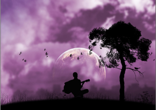 Free Purple Serenade Picture for Android, iPhone and iPad