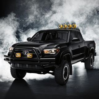 Toyota Tacoma Black - Obrázkek zdarma pro 320x320