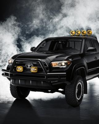 Toyota Tacoma Black - Obrázkek zdarma pro 240x432