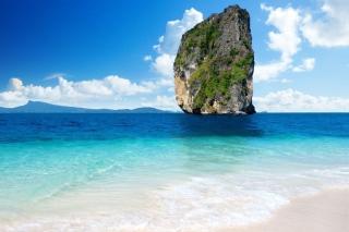 Rock In Ocean - Obrázkek zdarma pro Google Nexus 7