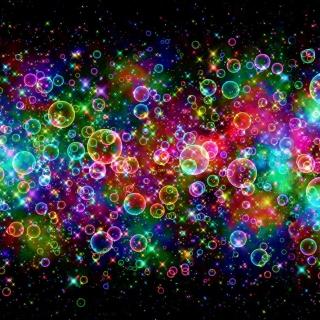Rainbow Bubbles - Obrázkek zdarma pro iPad Air