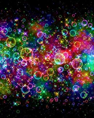 Rainbow Bubbles - Obrázkek zdarma pro Nokia X3-02