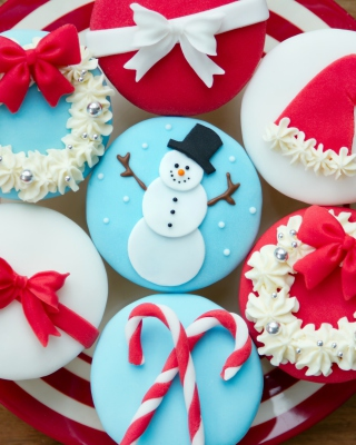 Christmas Pastry Dessert - Obrázkek zdarma pro 640x960
