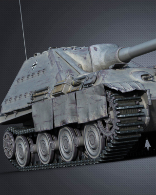 World of Tanks Jagdpanther II sfondi gratuiti per Nokia Asha 306